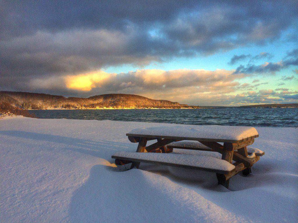 Munising Michigan Winter
